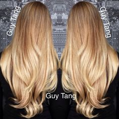 Balayage Blonde Ombre