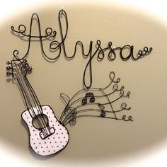 Prenom fil de fer alyssa guitare