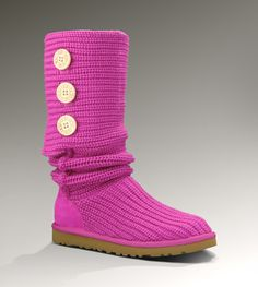 UGG CLASSIC CARDY Women's Raspberry Sorbet Boots