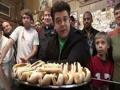 The Roast Grill, North Carolina. Break the restaurant's record of 17 hot dogs eaten in 50 minutes (set by Adam himself).