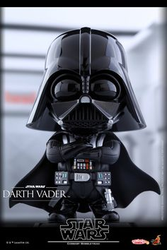 The Force is Strong with Hot Toys' Darth Vader Cosbaby Bobble-Heads
