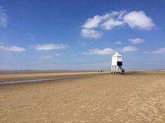 Burnham on Sea, Somerset. Lighthouse. The Seaside Diaries