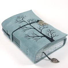 beautiful handmade journals by kreativlink @ etsy