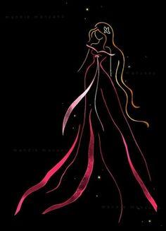 Ribbon Art - Giselle ♊️ (Credit: Mandie Manzano @deviantART)