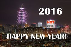 Happy New Year 2016!   #happynewyear #happynewyear2016 #hotinsocialmedia Happy New Year 2016, New Years 2016, Event Marketing, Neon Signs, Social Media, Events, Social Networks, Social Media Tips
