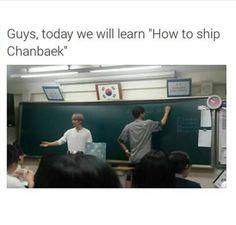 Chanbaek for life ^^ | via WeHeartIt
