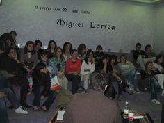 Encuentro con Autor: Miguel Larrea (2007)
