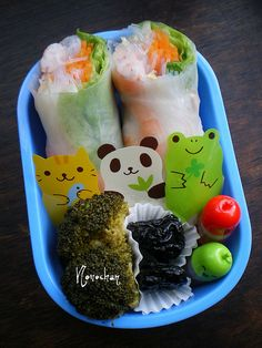 simple healthy bento for kids