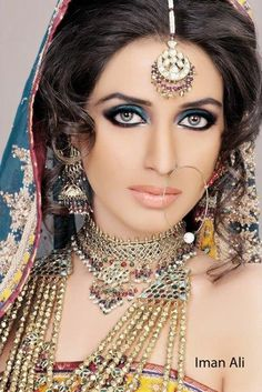 #Desi Magic: Actor Iman Ali Bridal Makeover Shoot by Ather Shahzad https://www.facebook.com/AtherShahzad