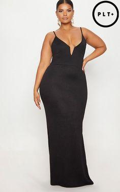 bb4af255055 Black Black V Bar Backless Maxi Dress Backless Maxi Dresses