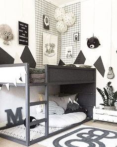 Most recent Pic The Boo and the Boy: Loft Beds .- Most recent Pic Der Boo und der Junge: Hochbetten Most recent Pic The Boo and the boy: loft beds - Boys Loft Beds, Kid Beds, Toddler Rooms, Baby Boy Rooms, Girl Rooms, Toddler Boy Beds, Baby Room, Cool Kids Bedrooms, Girls Bedroom