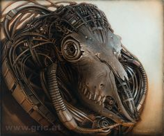 The soulless warrior Peter Gric Acrylic on fiberboard 2016