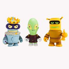 Futurama x Kidrobot Series 2 Minifigures - Single Blind Box; I just want BENDER