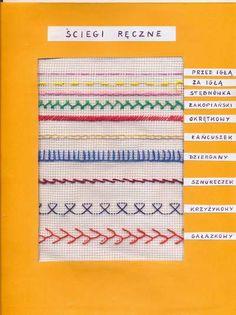 ściegi ręczne - nazwy Techno, Embroidery, Diy, Handmade, Google Search, Children, Christmas, Young Children, Xmas