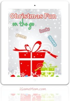 Holiday educational entertainment on your tablets (iPAD, Kindle, Android, Nook) - Games, Books, and Movies