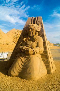 Sandskulpturenfestival Sondervig 2013 DSC01368 | Flickr - Photo Sharing!