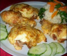 Érdekel a receptje? Kattints a képre! Croatian Recipes, Hungarian Recipes, Meat Recipes, Chicken Recipes, Green Eggs And Ham, Yummy Food, Tasty, Main Meals, No Cook Meals