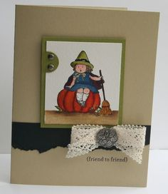#Stampin Up! stampin up halloween cards