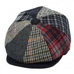 0574eee7c30c7a Deewang Men's Wool newsboy Cap- Herringbone Driving Cabbie Tweed Applejack  Golf Hat - 1591-