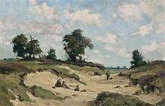 Cornelis Koppenol 1865-1946, A PICNIC IN THE DUNES