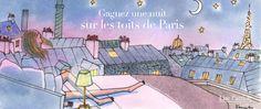 """""""My Little Paris"""" - Art by Kanako Kuno"""