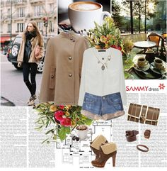 """""""Winter with Sammydress"""" by fashionqueengirl ❤ liked on Polyvore"""