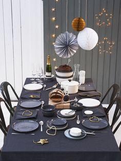 décoration de noel , table de noel