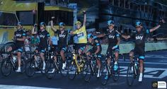 "Chris Froome, ""Touch the Sky""! #‎TDF"
