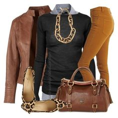 Ideas de outfits: color clave - marrón...