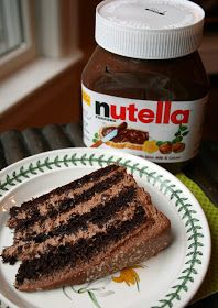 Joy Served Warm: Nutella Layer Cake