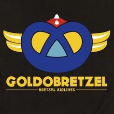 T-shirt homme Goldo Bretzel - noir