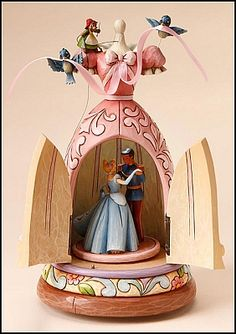 Jim Shore, A Dream is a Wish Your Heart Makes - Cinderella Figure--Not crazy about how it looks but I love that song.