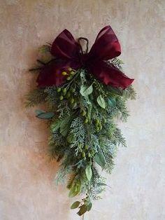 クリスマスリースよりも簡単な「クリスマススワッグ」の作り方・スワッグデザイン50選|ハンドメイド部 -page2 | Jocee