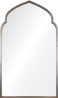 "A reflection of your good taste and sophistication, this large scale, elegant mirror will be a standout in your entry way, living room, dining room, bedroom or master bath. - 30""W x 50""H - Tudor Arche"