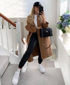 Casual Winter Outfits, Winter Fashion Outfits, Classy Outfits, Look Fashion, Spring Outfits, Trendy Outfits, Ootd Winter, Autumn Outfits, Womens Fashion