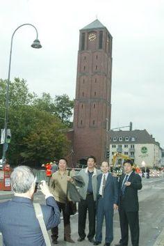 Der schiefe Turm von Köln