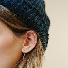 kleiner Ring am Ohr innen