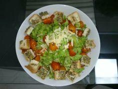 Salada caesar - Tudo Gostoso