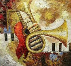 Music instrument art