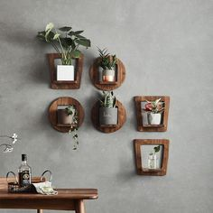 Bring life and style to your home or office with the gorgeous Lizeth modern nordic multi-level planter! Available in a range of colors and sizes, sold individually. Free Worldwide Shipping & Money-Back Guarantee Boho Living Room, Living Room Decor, Bedroom Decor, Bedroom Ideas, Design Bedroom, Deco Cool, Old Wall, Diy Wood Projects, Wooden Walls