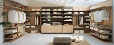 Rolledge carries wardrobe storage solutions by FEG, designed in Italy