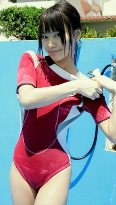 Red Swimsuit, Swimsuit Cover Ups, One Piece Swimsuit, Japanese Swimsuit, Scuba Girl, Womens Wetsuit, Swimsuits, Swimwear, Beachwear