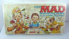 The Mad Magazine Board Game Complete 1979 Alfred E Newman #ParkerBrothers