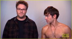 Zac Efron Goes Shirtless in 'Neighbors' TV Spot - Watch Now! | Neighbors, Seth Rogen, Shirtless, Zac Efron Photos | Just Jared