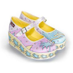 a111583ff0b Chocolaticas® Walk The 80 s Women s Mary Jane Platform · Mary Jane ShoesHot  ...