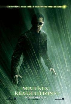 The Matrix Revolutions.  Film Poster.