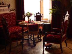 rotes Zimmer, Schloß Drachenburg - Foto: S. Hopp