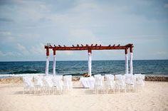 Grand Bahia Principe Akumal Beach Hammock Wedding #hotel #bahiaprincipe #weddings