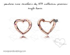 pandora rose mother's day 2018 earrings