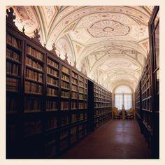 Un pomeriggio nella splendida Biblioteca Comunale di Macerata - Foto di @luna_simoncini